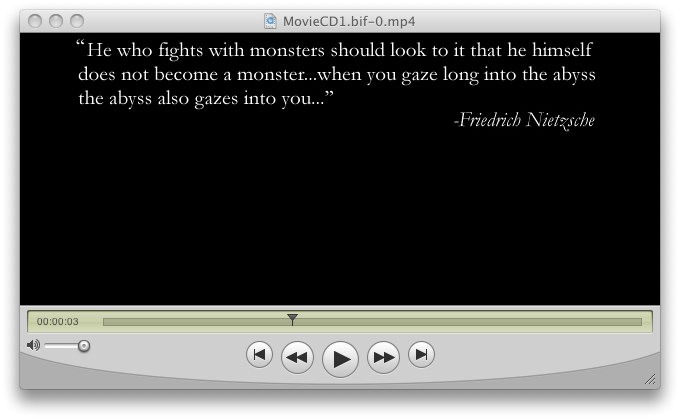 Baldur's Gate Nietzsche quote