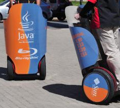 Blu-Ray/Java Segway