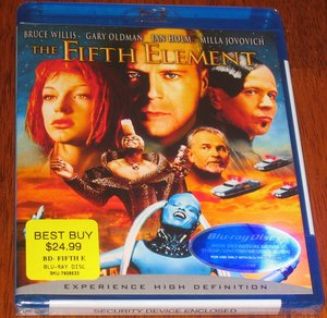 Fifth Element Blu-Ray Package