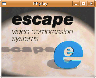 ffplay playing RPL/Escape-124 data