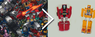 Gobots vs. Transformers
