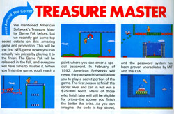 Treasure Master (NES) -- Nintendo Power