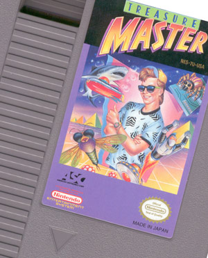 Treasure Master (NES) cartridge