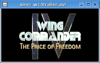 Wing Commander IV Title