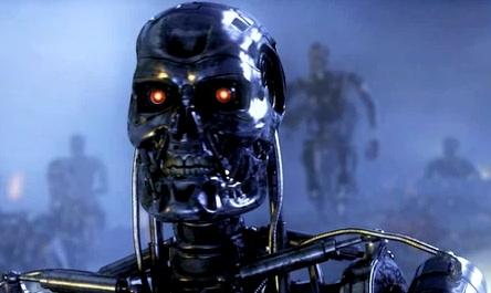 Terminator Robot (T-800); from Terminator 3 movie trailer