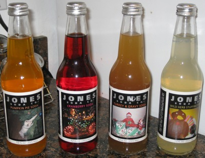 Jones holiday soda