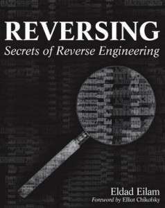 Book cover: Reversing: Secrets of Reverse Engineering