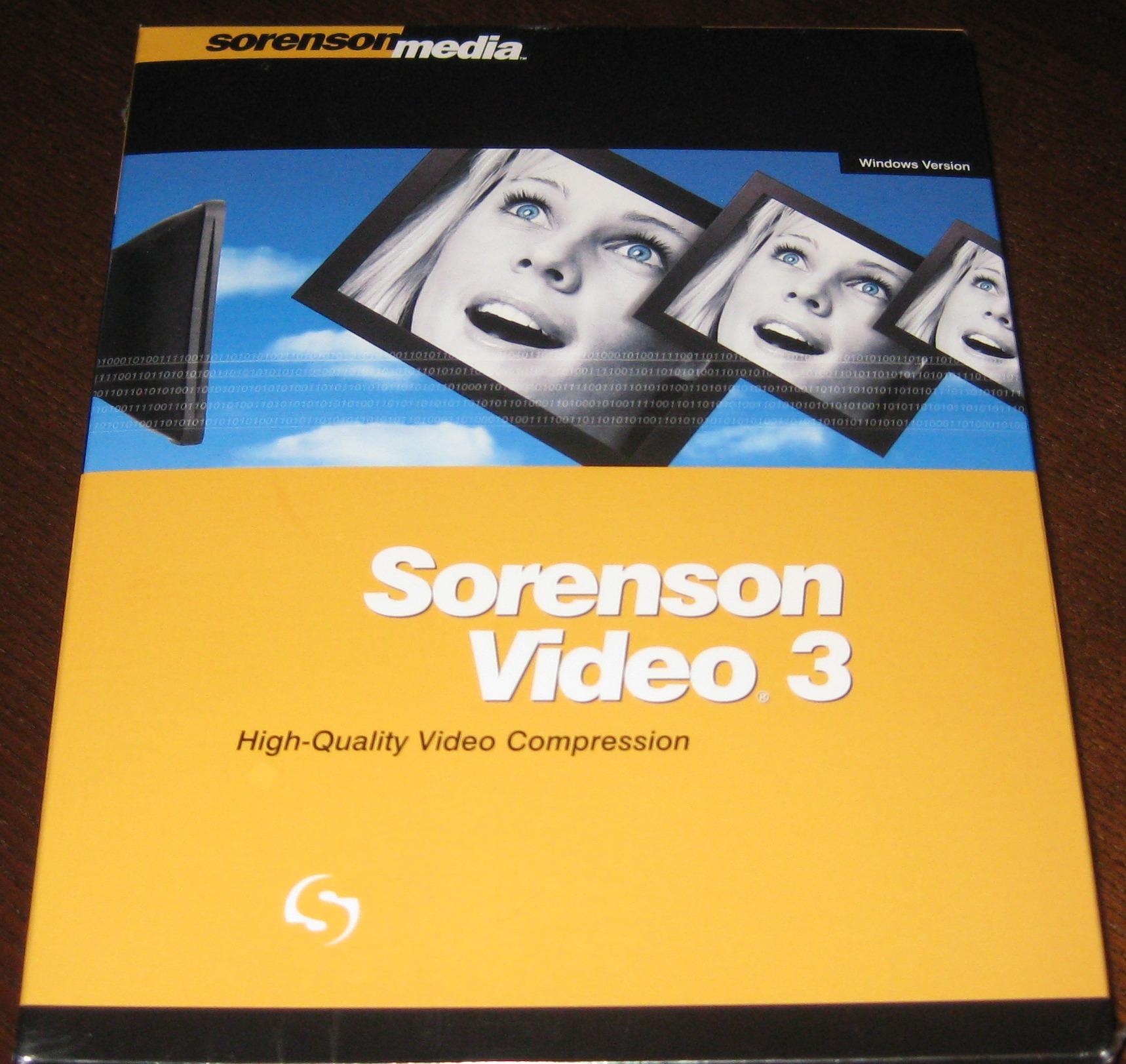sorenson video 3