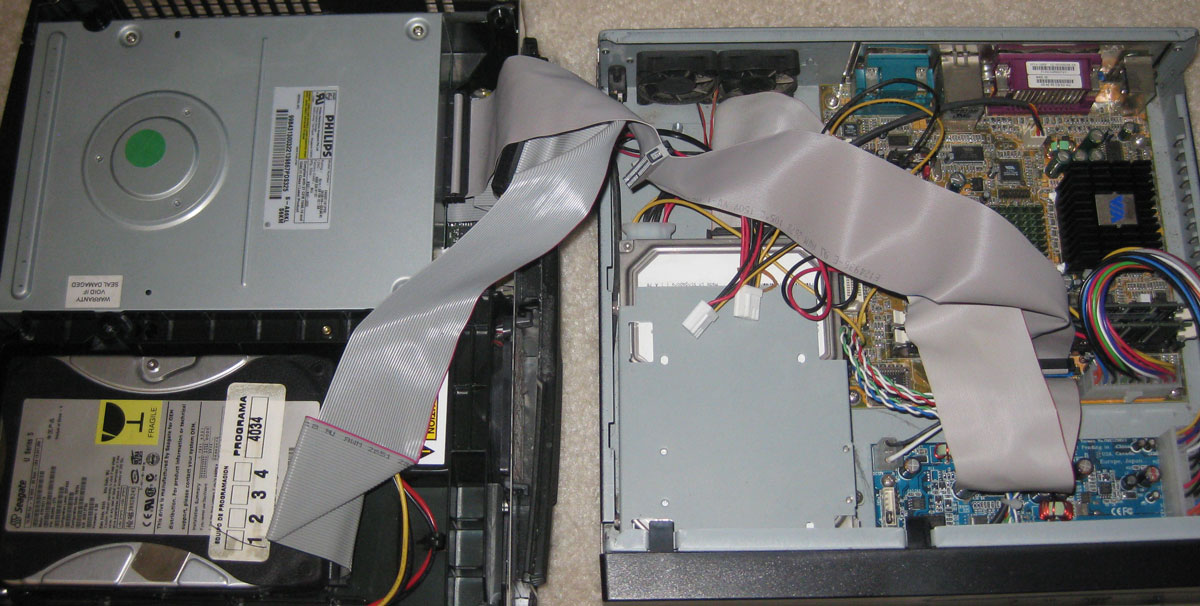 Interfacing to an Xbox Optical Drive | Breaking Eggs And Making ...