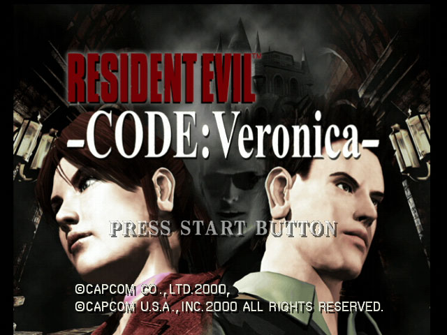 Resident Evil: Code Veronica title