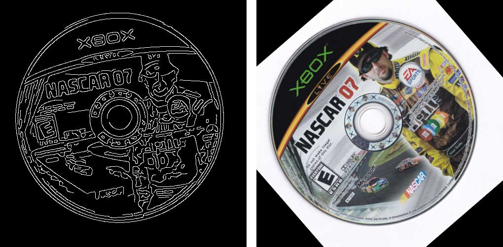 Nascar 07 Xbox Scan, incorrectly rotated
