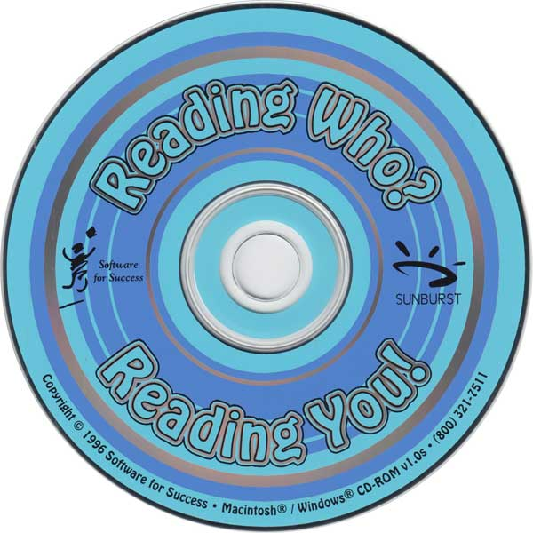 Reading Who? Reading You! CD-ROM